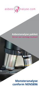 Asbest Analyse Pakket
